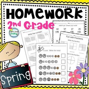 Math Homework 2nd Grade