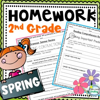 Language Arts Homework 2nd Grade
