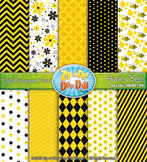 Spring Honey Bees Digital Scrapbook Pack (10 Pages)