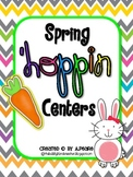 Spring 'Hoppin Literacy Centers