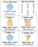 Spring: I Have Who Has? Kindergarten