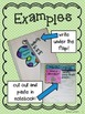 Spring Interactive Notebook Activities and Flip Books for