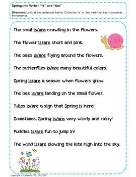 Spring Into Grammar!
