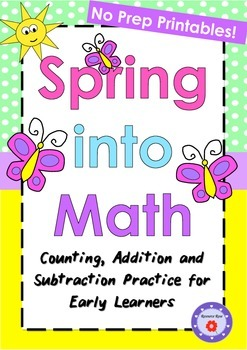 Math - K-1 (Counting, Addition and Subtraction)