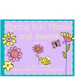 Spring Into Plants and Insects Math Pack