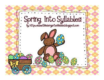 Spring Into Syllables Game!