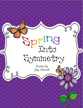 Spring Into Symmetry Activity Pack