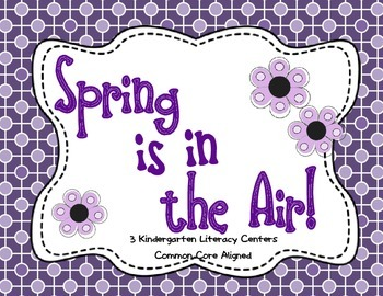 Spring Is In The Air- 3 ELA Centers