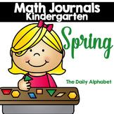 Spring Kindergarten Math Journals