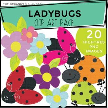 Lady Bug Clip Art Pack