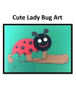 Spring Ladybug Art