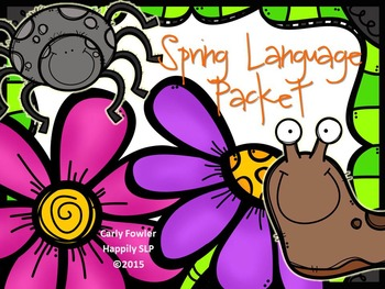 Spring Language Packet for Expressive and Receptive Language