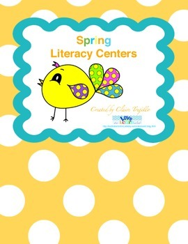 Spring Literacy Centers!