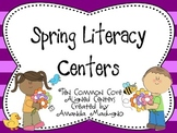 Spring Literacy Centers - Common Core Aligned