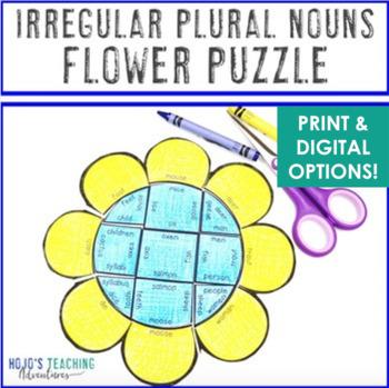 Spring Literacy Centers: Irregular Plural Nouns
