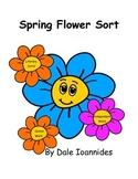 Spring Literacy Flower Sort