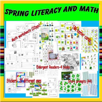 Spring Literacy and Math Kindergarten/First