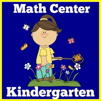Spring Math Center | Spring Math Kindergarten | Math Cente