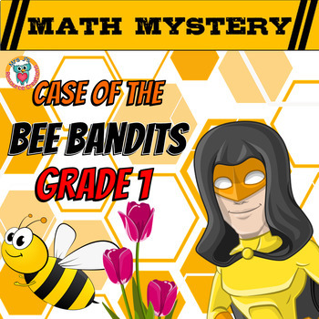 Spring Activity: Math Mystery (Grade 1 Addition, Missing A