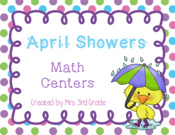 Spring Math Center FREEBIE!!