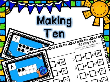 Spring Math Center -- Making Ten