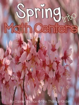Spring {Math Center Tub}s