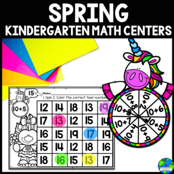 Spring Math Centers CCSS Aligned