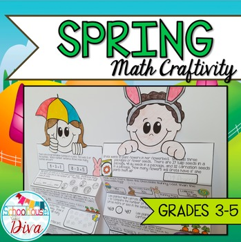 Spring Math Craftivity