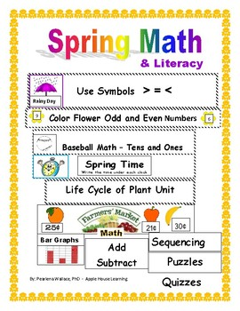 First Grade Math Units Number Sense, Odd Even, Sequence, T