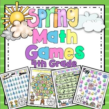 Spring Math: 4th Grade
