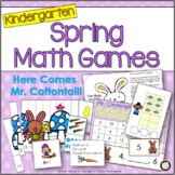 Spring Math K-1: Here Comes Mr. Cottontail