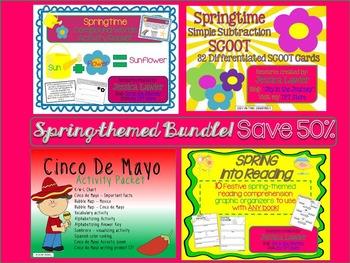 Spring Math & Language Arts Bundle