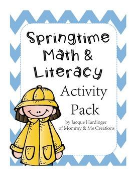 Spring Math & Literacy Activity Pack