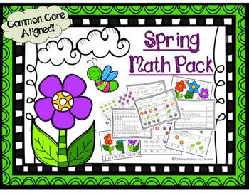 Spring Math Pack