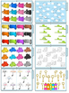 Spring Math Skills File Folder Tasks (29 Tasks Included)