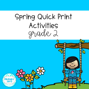 Spring Math and Language Worksheets