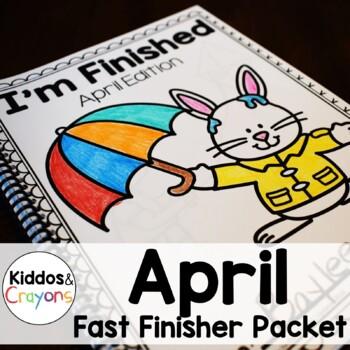Spring Math and Literacy Printables-No Prep!