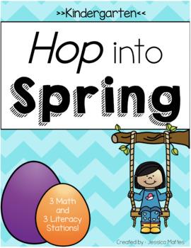 Spring Math and Literacy Activities (Kindergarten)