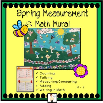Spring Measurement & Addition Math Mural