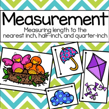 Spring Measurement: Measuring to the Nearest Inch, Half-In