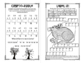 Spring Mini Puzzle Book for Third Graders
