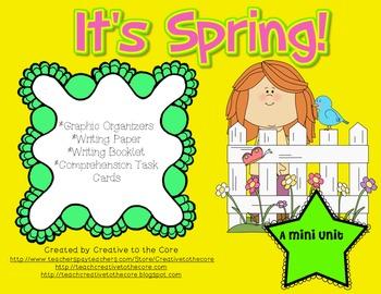 Spring Mini Unit~ Includes Graphic Organizers & Much More!