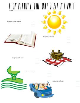 Spring News Report Activity- Second Grade
