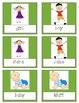 Spring Nouns, Adjectives, and Verbs practice games, activi
