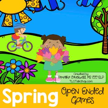 Spring: Open-Ended Games