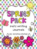 Spring Pack: Daily Writing Journals