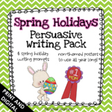 Spring Persuasive Writing Pack (With Non-Themed Posters)