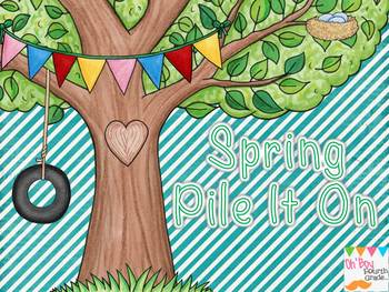 Spring Pile It On... Math fun for older kids