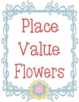Spring Place Value Bulletin Board