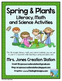 Spring & Plants Literacy, Math and Science Activities